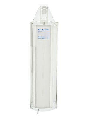 Infusor 3000, Drukzak 3000 ml, transparante wikkel met female Luerlock, Reusable