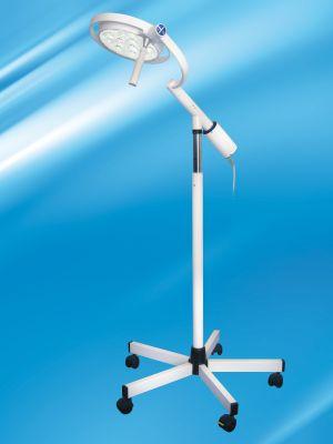 Mach LED 120, Onderzoekslamp 5-voetsstatief met één-hand-hoogte verstelling