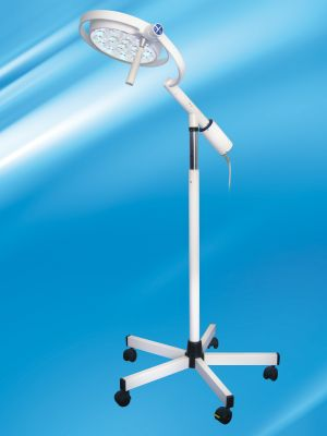 Mach LED 130F, Onderzoekslamp 5-voetsstatief met één-hand-hoogte verstelling