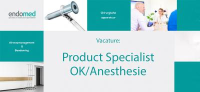 Vacature Product Specialist OK/Anesthesie